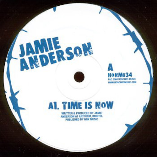 Jamie Anderson – Time Is Now EP – A