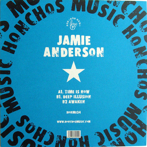 Jamie Anderson – Time Is Now EP – Back