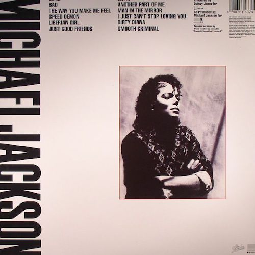 Michael Jackson – Bad – Back