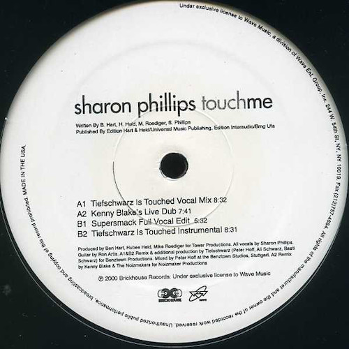 Sharon Phillips – Touch Me – B