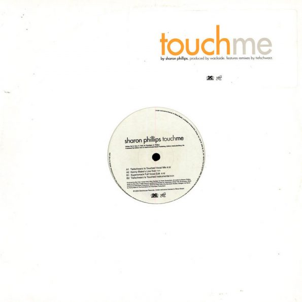 Sharon Phillips – Touch Me – Front