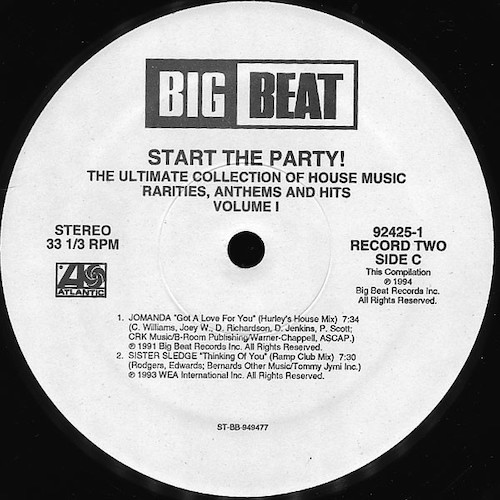 Various – Start The Party! Volume 1 – C