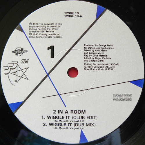 2 In A Room – Wiggle It – A