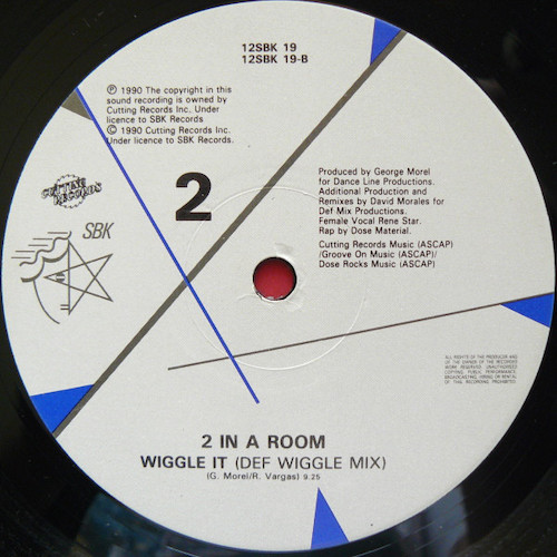 2 In A Room – Wiggle It – B