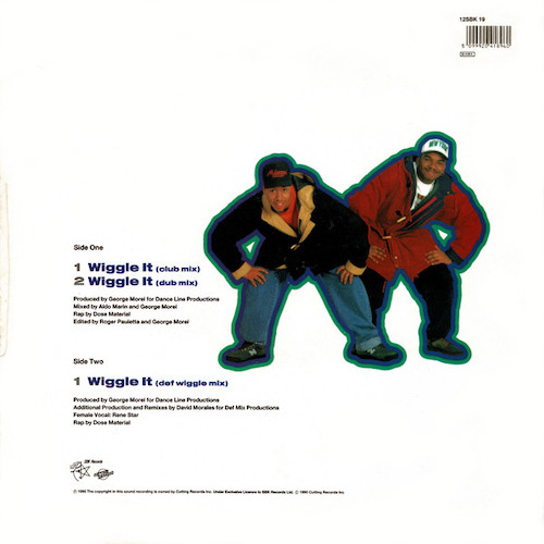 2 In A Room – Wiggle It – Back
