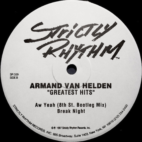 Armand Van Helden – Greatest Hits – B