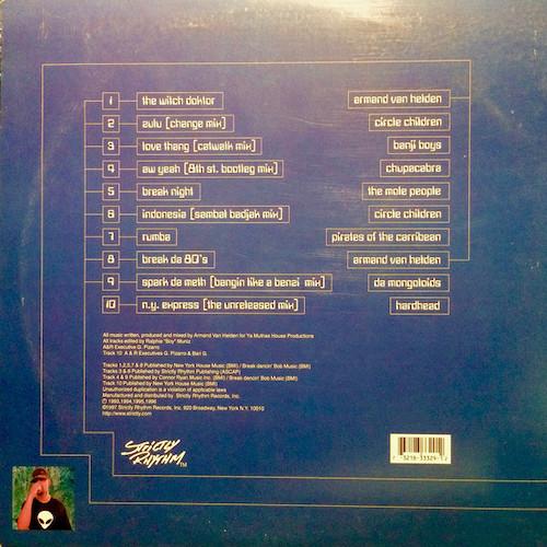 Armand Van Helden – Greatest Hits – Back