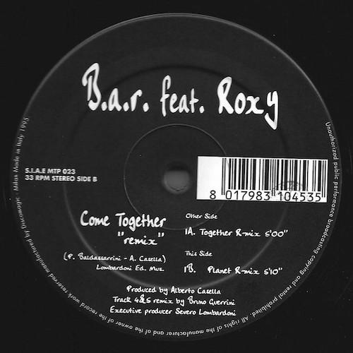 B.A.R Feat. Roxy – B