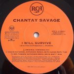 Chantay Savage – I Will Survive – Front