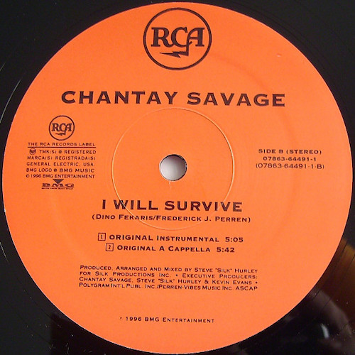 Chantay Savage – I Will Survive – B