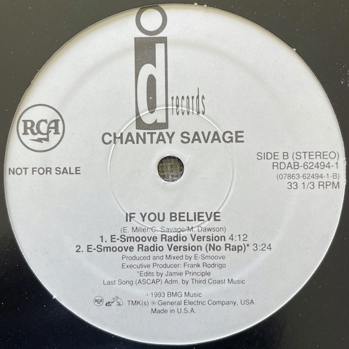 Chantay Savage – If You Believe – D