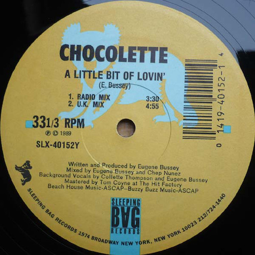 Chocolette – A Little Bit Of Lovin' – B