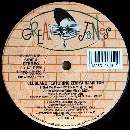 Clubland – Set Me Free – A