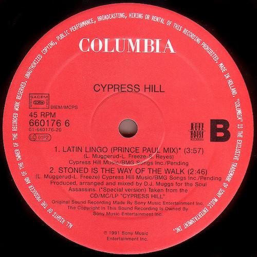 Cypress Hill – Insane In The Brain EP- B