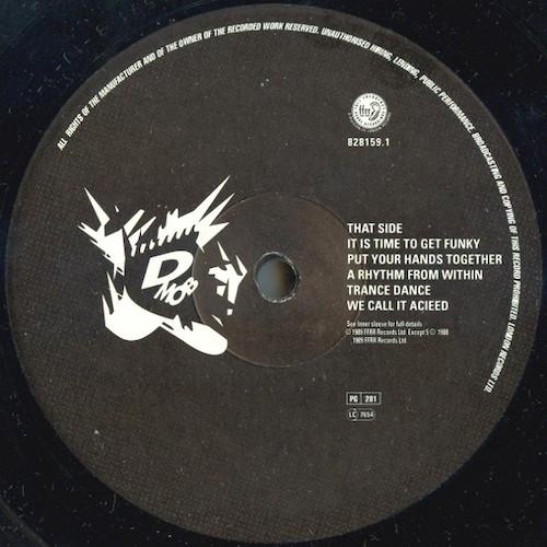 D Mob – A Little Bit Of This, A Little Bit Of That – B