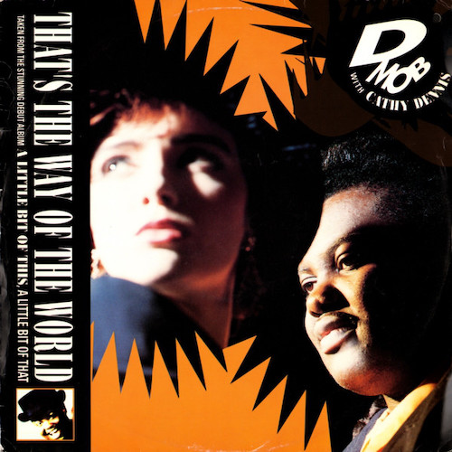 D Mob – That's The Way Of The World – Front