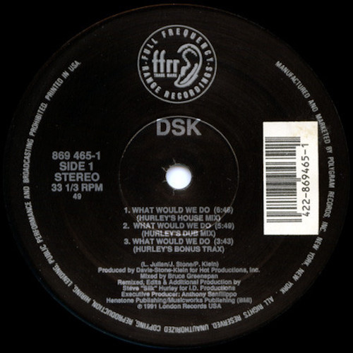 DSK – What Would We Do – A