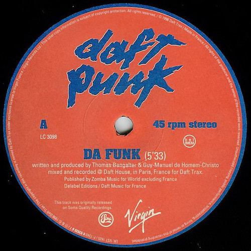 Daft Punk – Da Funk – A