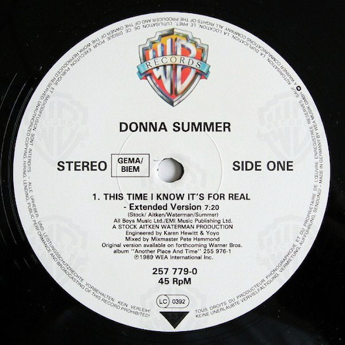 Donna-Summer-This-Time-I-Know-Its-For-Real-A