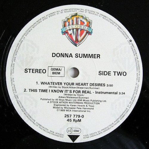 Donna-Summer-This-Time-I-Know-Its-For-Real-B