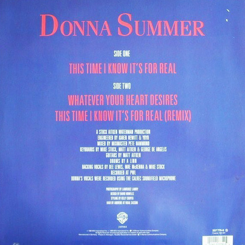 Donna-Summer-This-Time-I-Know-Its-For-Real-Back