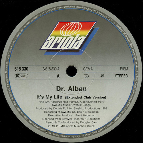 Dr.-Alban-Its-My-Life-A