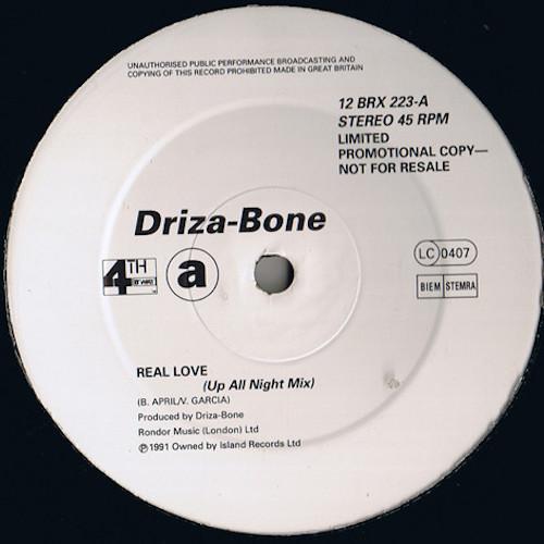 Driza Bone – Real Love – A