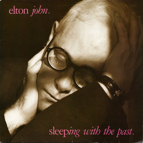 Elton John – Sleeping With The Past – Front