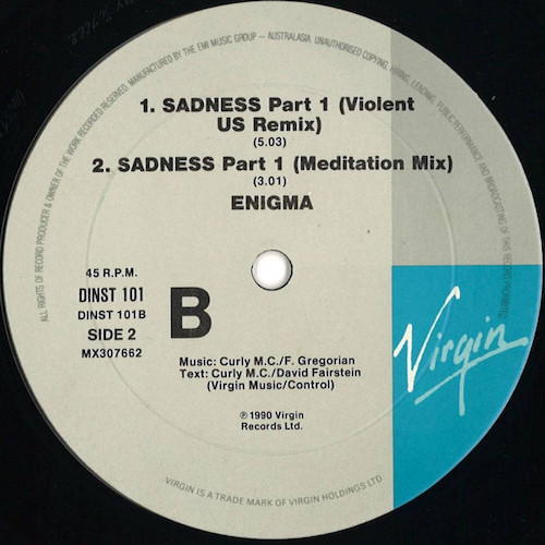 Enigma – Sadness – B
