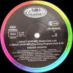 Freddie Jackson – Crazy (For Me) – Front