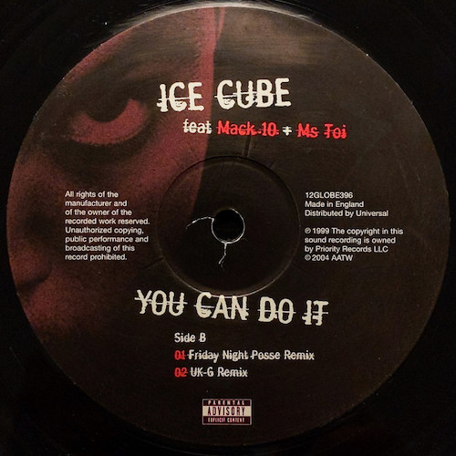 Ice Cube – You Can Do It – B