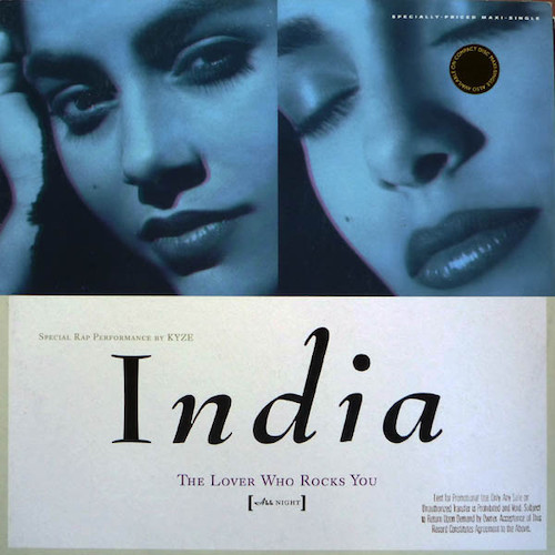 India – The Lover Who Rocks You – Front