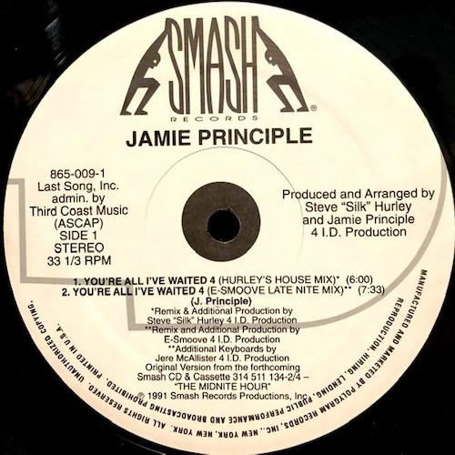 Jamie Principle – You're All I've Waited 4 – A