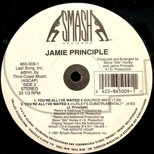 Jamie Principle – You're All I've Waited 4 – B