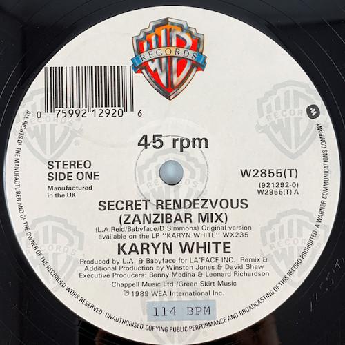 Karyn White – Secret Rendezvous – A