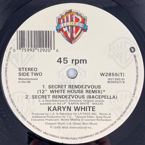 Karyn White – Secret Rendezvous – B