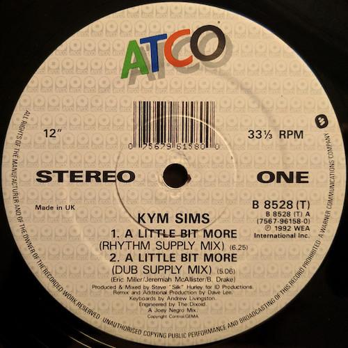 Kym Sims – A Little Bit More – A