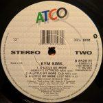 Kym Sims – A Little Bit More – Front