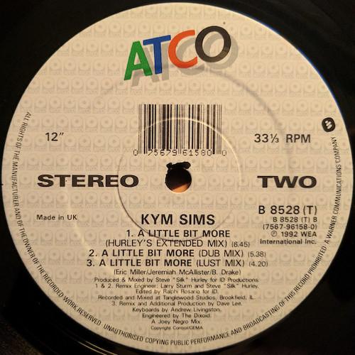 Kym Sims – A Little Bit More – B