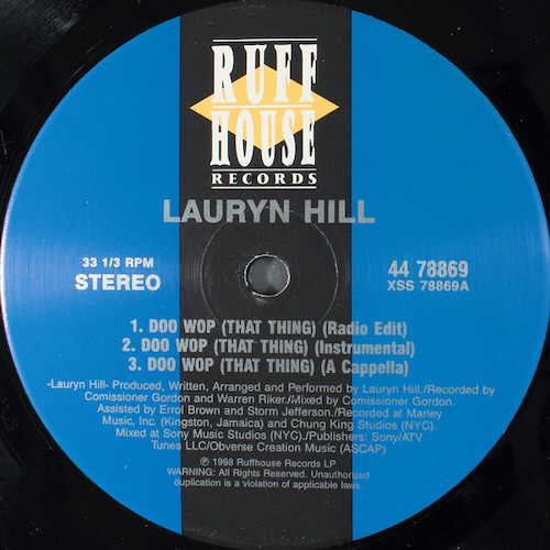 Lauryn Hill – Doo Wop (That Thing) – A