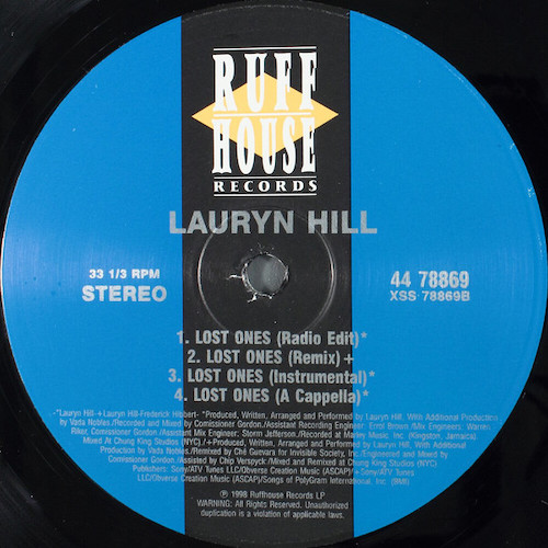 Lauryn Hill – Doo Wop (That Thing) – B