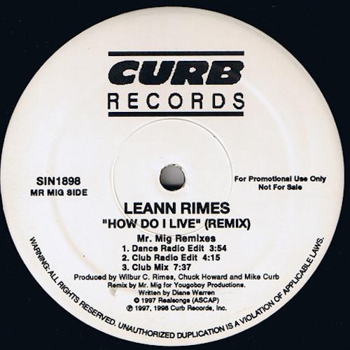 Leann Rimes – How Do I Live – A