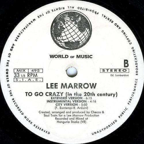 Lee-Marrow-To-Go-Crazy-B