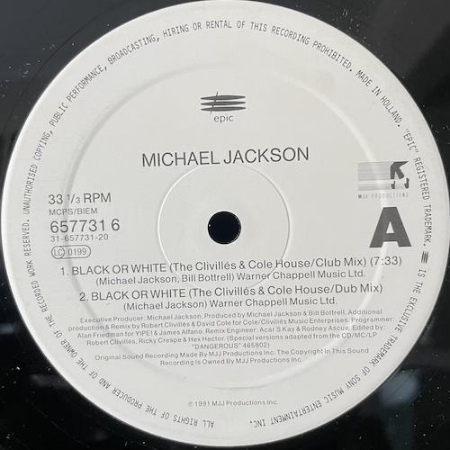Michael Jackson – Brack Or White – B