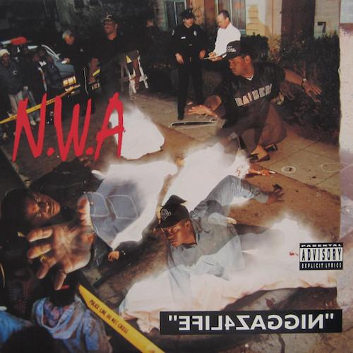 N.W.A – Niggaz 4 Life – Front