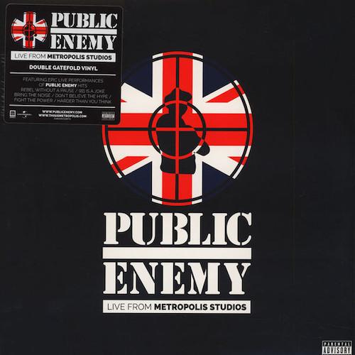 Public Enemy – Live From Metropolis Studios – Front