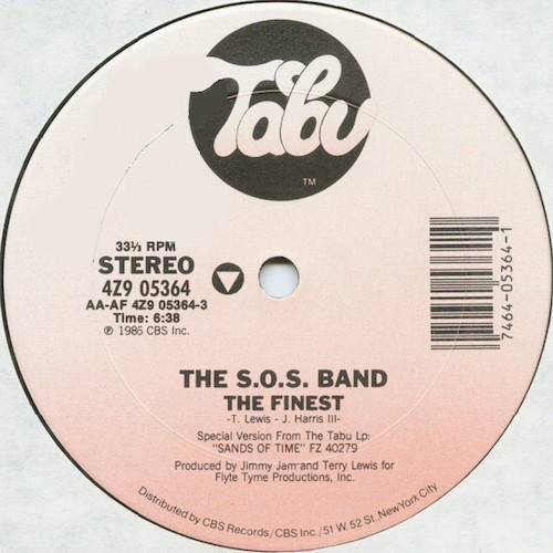 SOS Band – The Finest – A
