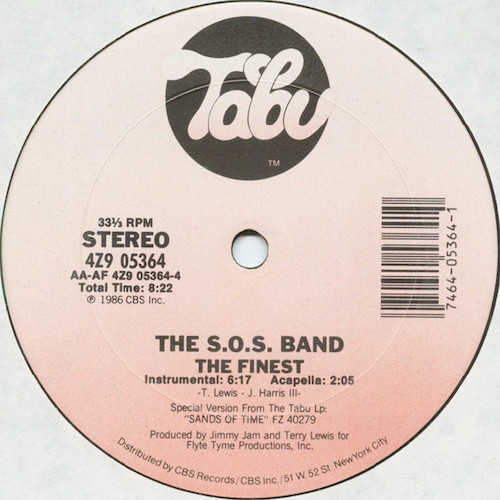 SOS Band – The Finest – B