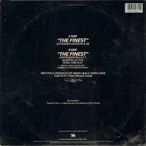 SOS Band – The Finest – Back