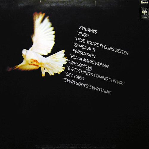 Santana – Greatest Hits – Back